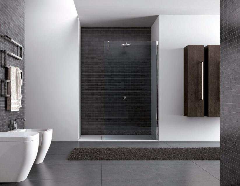 Box doccia cristallo porta o 1 anta i - Costo medio ristrutturazione bagno ...